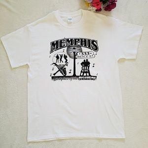 Memphis TN Beale St tshirt size Large